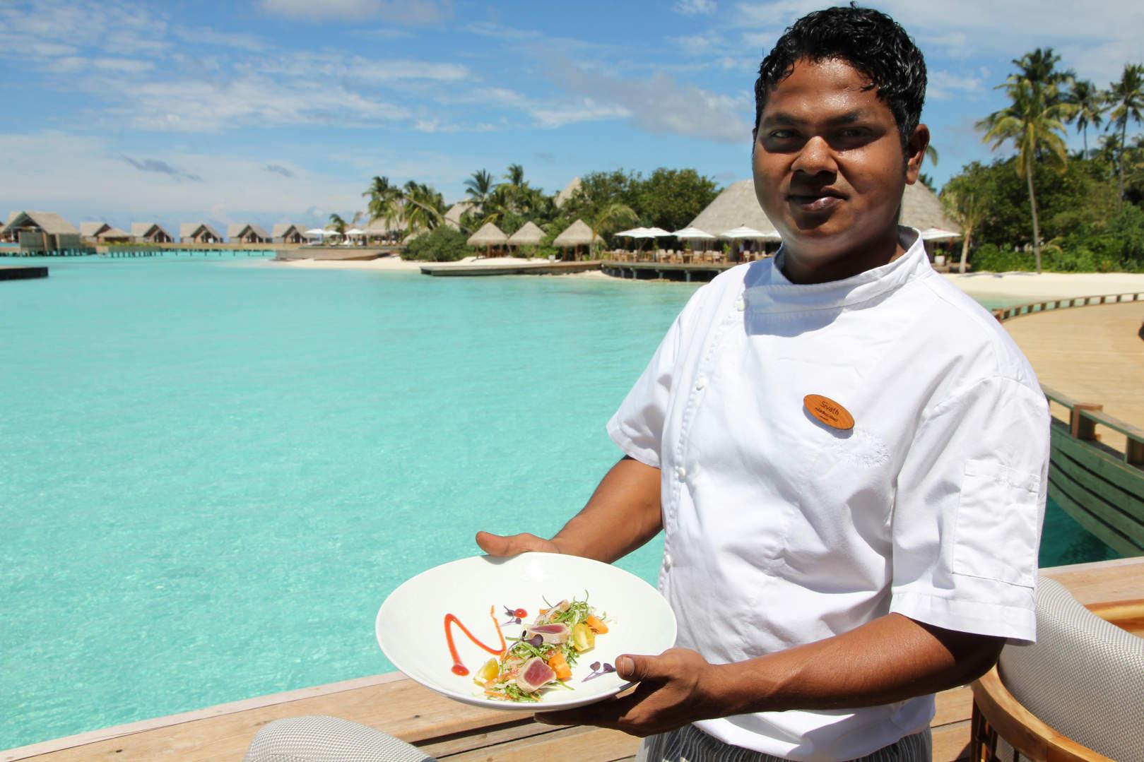 Milaidhoo er barfotluksus og toppgastronomi på Maldivene