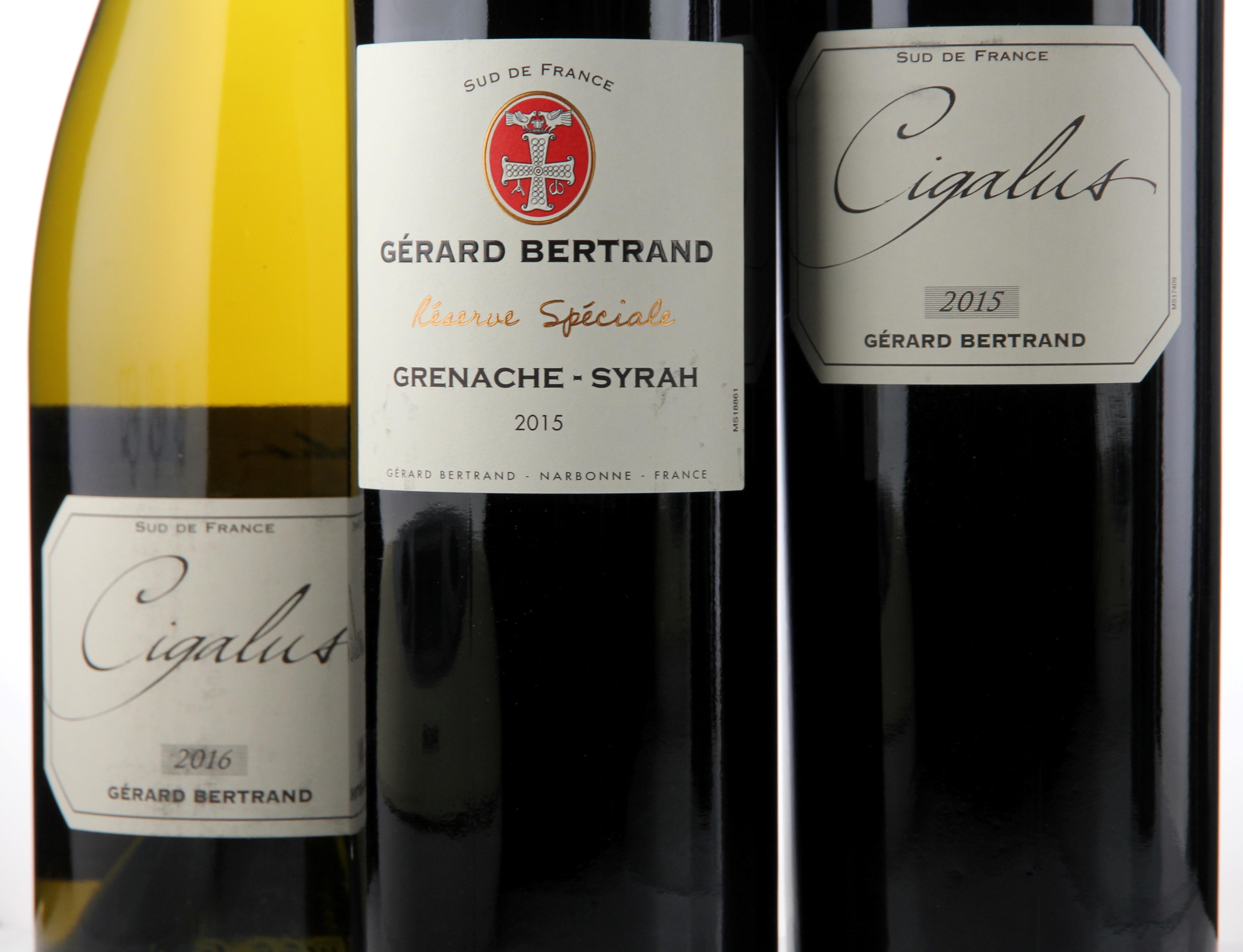 Gérard Bertrand lager gode biodynamiske viner i Languedoc
